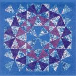 COLLIDE-O-SCOPE QUILT PATTERN