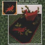 Winter Cardinal Wool Runner & Centerpiece Pattern