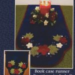 Folk Art Flowers Wool Runner & Centerpiece Pattern