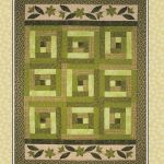 Going Green in the Cabin Quilt Pattern