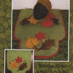 Autumn Leaves Wool Runner & Centerpiece Pattern