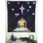NORTHWOODS NATIVITY QUILT PATTERN