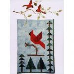 CARDINAL IN THE WOODS QUILT PATTERN