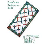 CrissCross Tablerunner Quilt Pattern