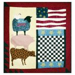 FOLK ART ANIMALS QUILT PATTERN