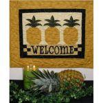 American Folk Art Pineapple-Welcome Pattern