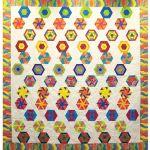 60 Degree Bubbles Quilt Pattern