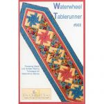WATERWHEEL TABLE RUNNER QUILT PATTERN