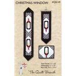 Christmas Window Table Runner Pattern
