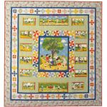 FRIENDS AT PLAY QUILT PATTERN
