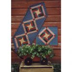 PINWHEEL STAR TABLERUNNER*