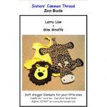 Larry Lion & Gina Giraffe Quilt Blankets