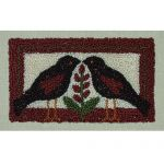 BLACKBIRDS PUNCHNEEDLE COMPLETE KIT