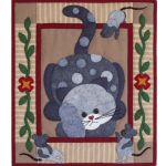 SPOTTY CAT QUILT PATTERN