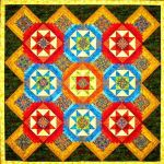 Step Into The Ring Quilt Pattern