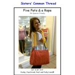 Five Fats & a Rope Bag Pattern