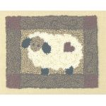 SHEEP PUNCHNEEDLE  COMPLETE KIT