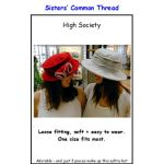 High Society Hat Pattern
