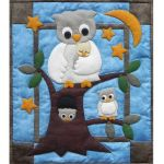 Owl Family Wall Quilt Pattern