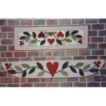 SWEETHEART VINE MANTEL SERIES QUILT PATTERN