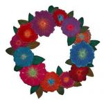 PAINTED WREATH QUILT PATTERN