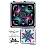 Twister Shimmer 4 Sizes Quilt Pattern