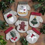 Warm Hands Mitten Ornaments Kit