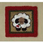 Round Sheep Punchneedle Embroidery Kit