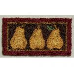 PEARS PUNCHNEEDLE PATTERN