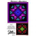 Twister Sparkler 6 Sizes Quilt Pattern