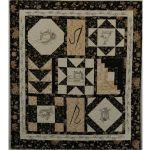 Sewing Through The Years Embroidery Quilt Pattern