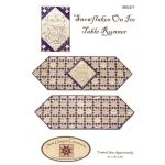 Snowflakes on Ice Table Runner Pattern