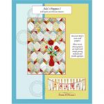 Ada's Poppies I Crib and Pennant Banner Quilt Pattern