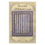 BRICK WALL OF WABASH COUNTY QUILT PATTERN