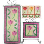 Tulip Trio Banners Quilt Pattern