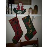 OLD FASHIONED CHRISTMAS SOCKS