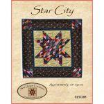 Star City Mini Quilt Pattern