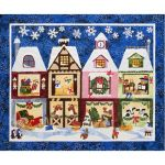The Holiday Ladies Reindeer Shack Quilt Pattern