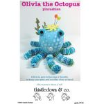 Olivia the Octopus Pincushion Pattern