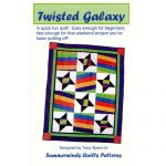 TWISTED GALAXY QUILT PATTERN*