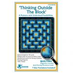 Thinking Outside The Block Quilt Pattern