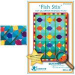 FISH STIX QUILT PATTERN*