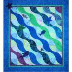 The Wave Too  Batik Quilt Pattern