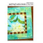 Goof-Proof Lattice Border Table Runner & Place Mats Quilt Pattern