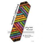 Greased Lightning Jelly Roll Runner Quilt Pattern