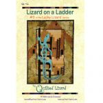 LUCKY LIZARD - #3 LIZARD ON A LADDER QUILT PATTERN