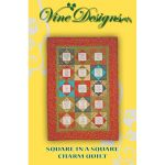 Square in a Square Charm Quilt Pattern