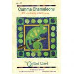 LUCKY LIZARD - #2 COMMA CHAMELEONS QUILT PATTERN