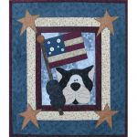 PATRIOTIC CAT PATTERN*