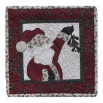 Little Quilts 2 - Ho, Ho , The Mistletoe Quilt Pattern